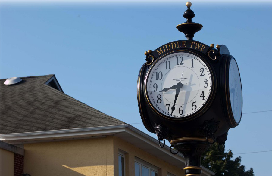 Middle-Township-Clock